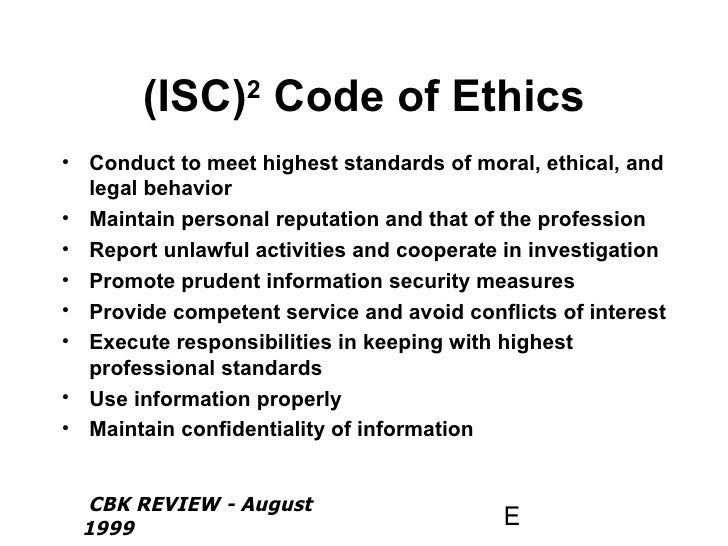 codes of conducts computer ethics Imperative of ethics & conduct the faculty of the cs department at utah valley  university strongly supports the acm code of ethics and professional conduct.