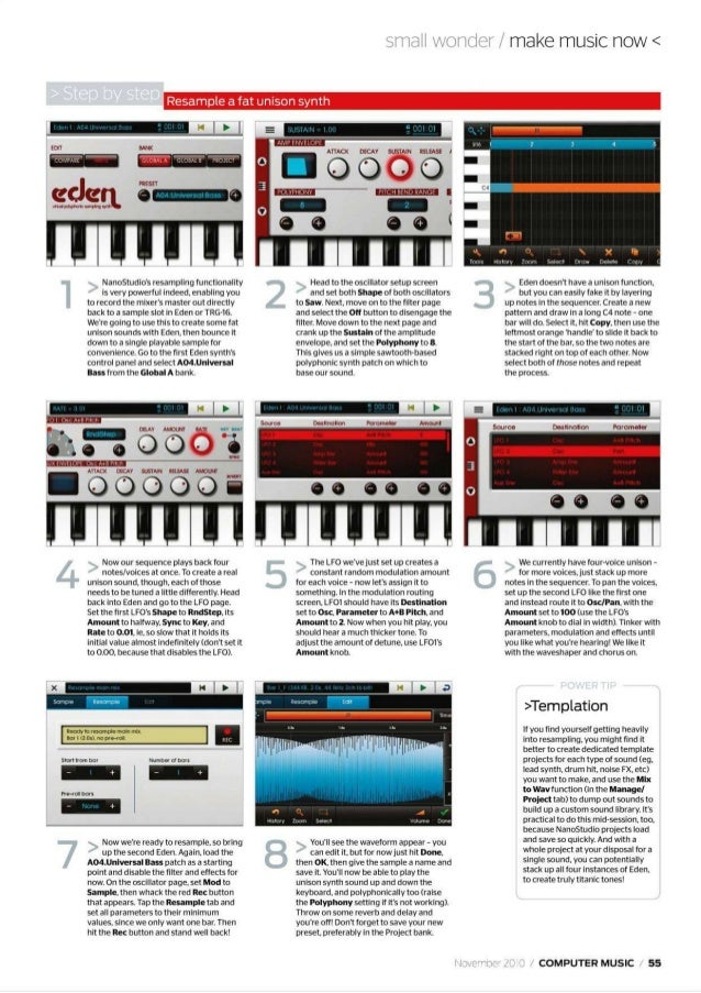 Computer music 2010 november opt more at ebook free download or magazinesdownload fandeluxe Images