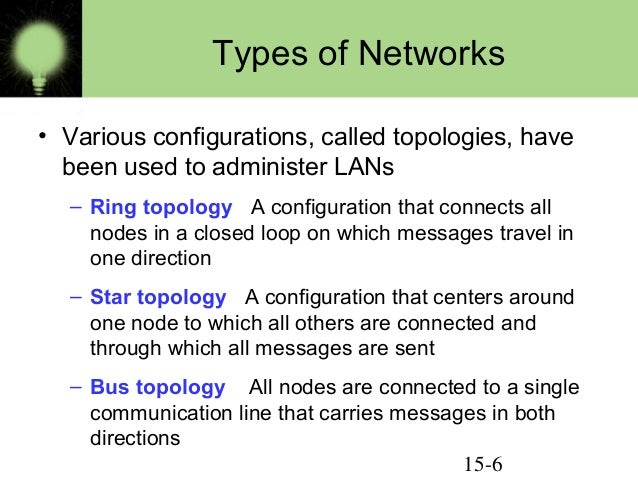 network types definition