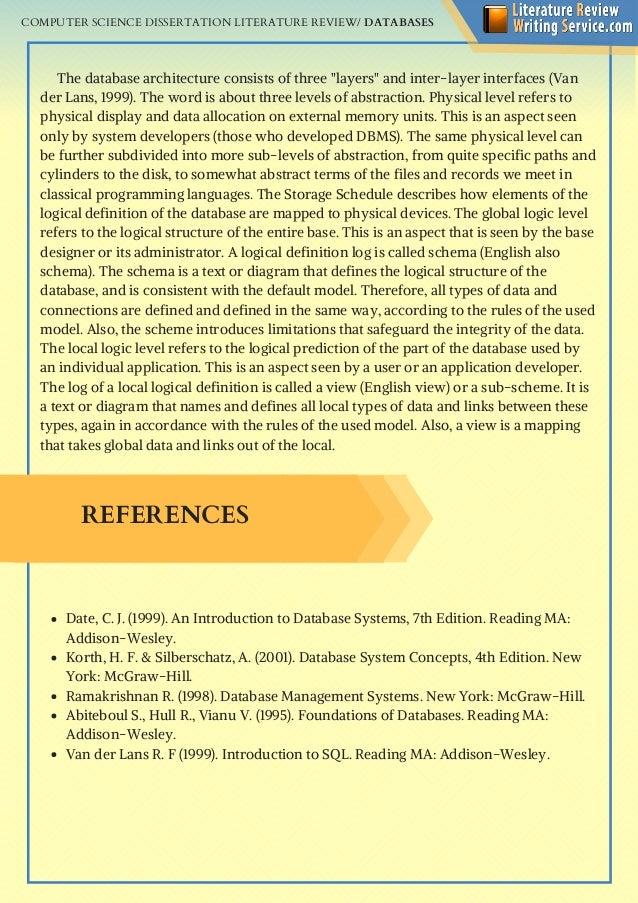 Computer dissertation