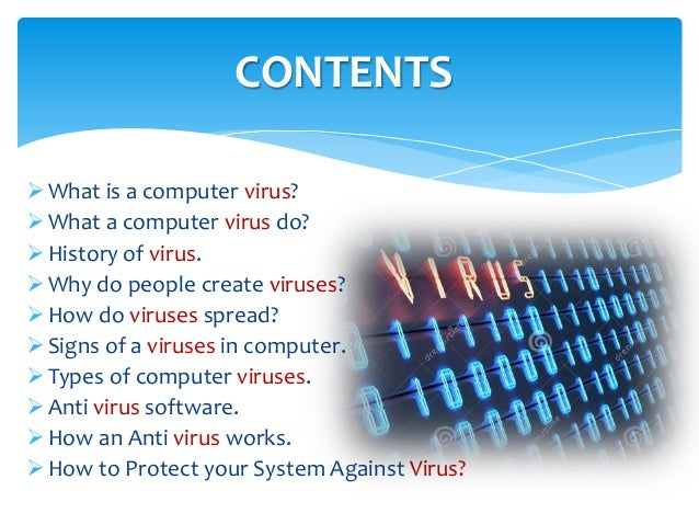 term paper on computer virus The term computer virus wasn't used until a year later a graduate student at the university of california, wrote an academic paper titled computer viruses.