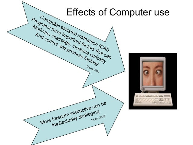 Cause and effects of computer addiction