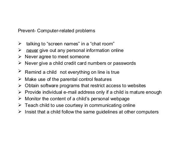 recommendations for computer addiction Video game addiction no fun [parents] take away the computer, their child sits in the corner and cries, refuses to eat, sleep, or do anything.