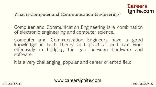 Computer and Communication Engineering Courses, Colleges, Eligibility Slide 2