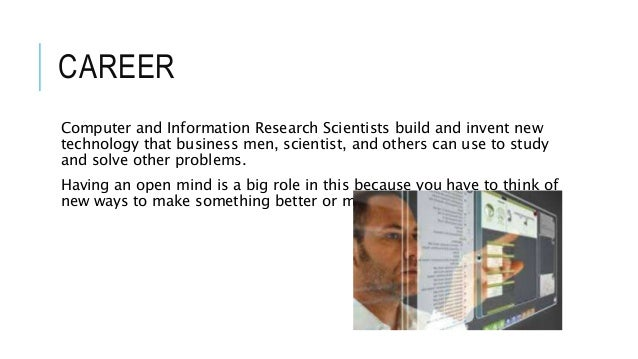 computer and information research scientists