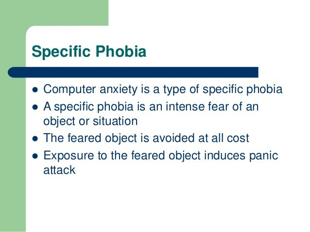 Computer Anxiety Slide 2
