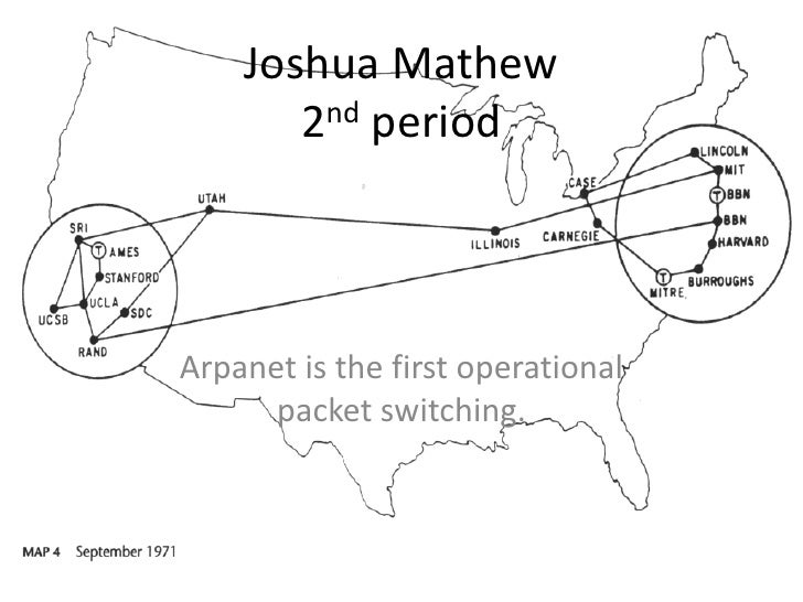 Joshua Mathew        2nd period    Arpanet is the first operational       packet switching.