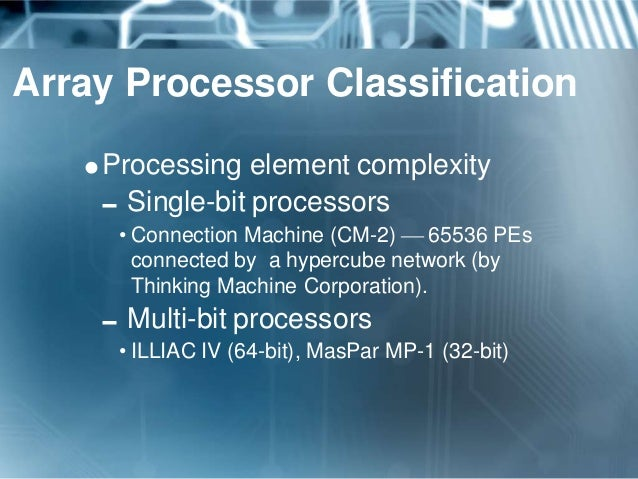 Parallel Processors (SIMD)