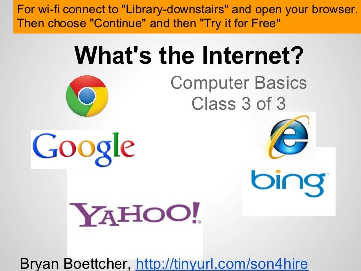 """For wi-fi connect to """"Library-downstairs"""" and open your browser.Then choose """"Continue"""" and then """"Try it for Free""""         ..."""