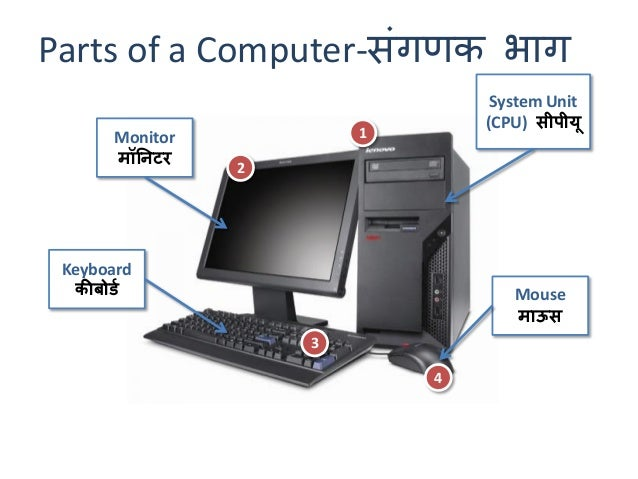 basic parts of computer The first step to building a computer is acquiring the parts this guide will start with a quick explanation of essential parts and elaborate on them further on a computer is made up of a case (or chassis) which houses several important internal components, and provides places to connect the.