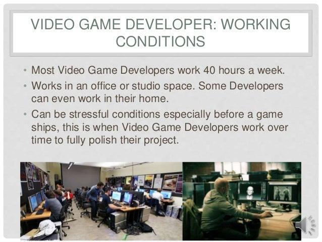 Luke Brady Video Game Development - Video game designer working conditions