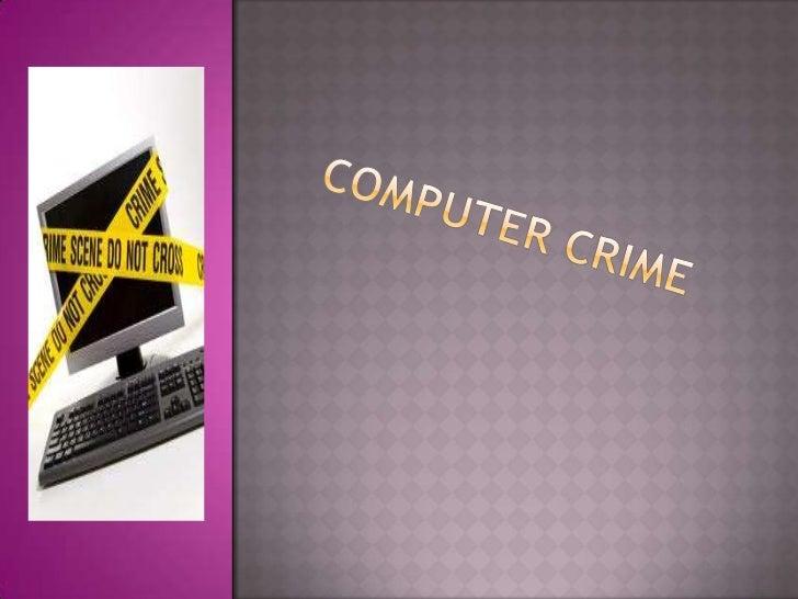 Computer crime<br />