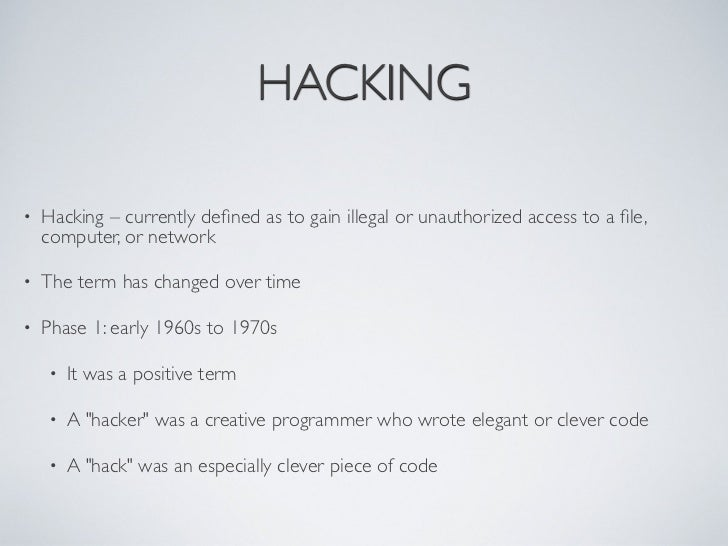 an essay on cyber crimes hacking Cybercrime, or computer oriented crime, is crime that involves a computer and a  network  fraud and identity theft (although this increasingly uses malware,  hacking or phishing, making it an example of both  although freedom of speech  is protected by law in most democratic societies (in the us this is done by the  first.