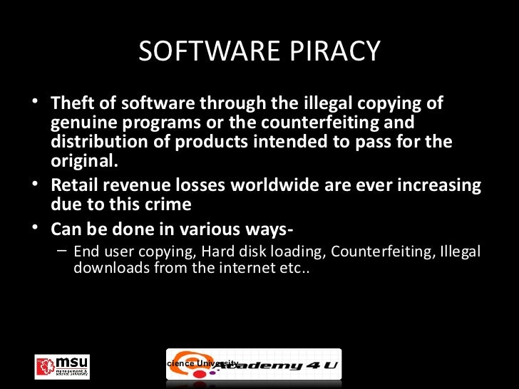 Is piracy in the computer industry a good or bad thing?