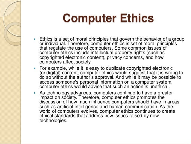 ethical and unethical uses of technology essay Professional help with writing your ethical essay papers essays on ethics are always a tough call for students an ethics paper requires a lot of time for preparation ethics essay topics are varied - from business theory to modern scientific research an ethical essay is different from other types of essay papers, as it requires.