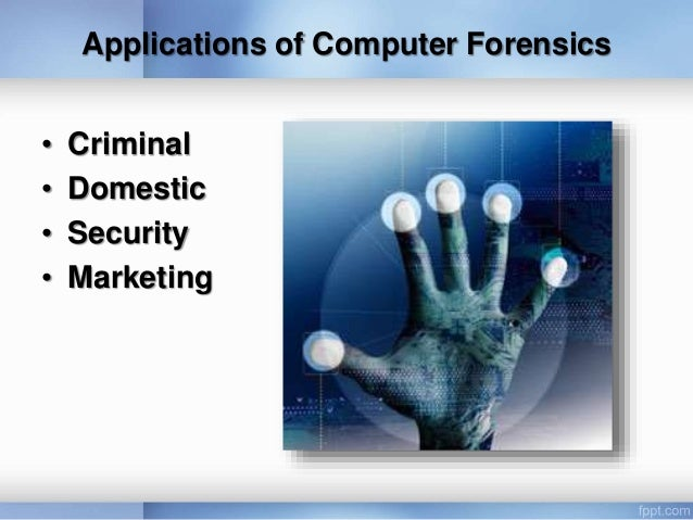 Computer Forensic Ppt