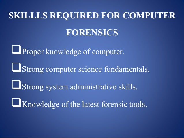 The Advantages of PCR in Forensic Science