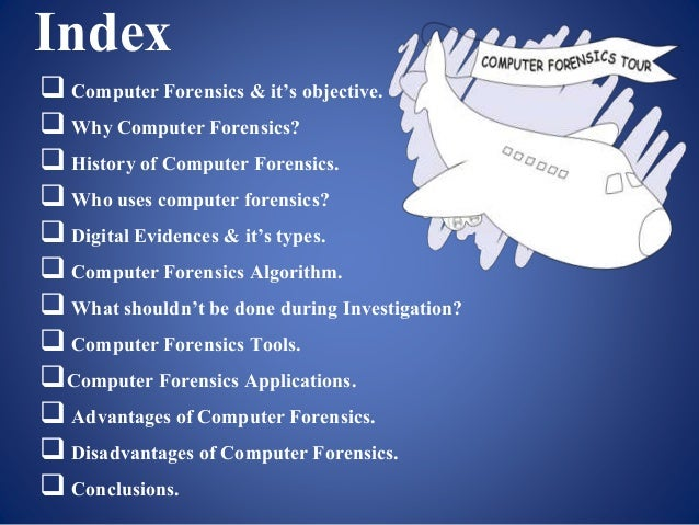 Computer Forensics Powerpoint Presentation