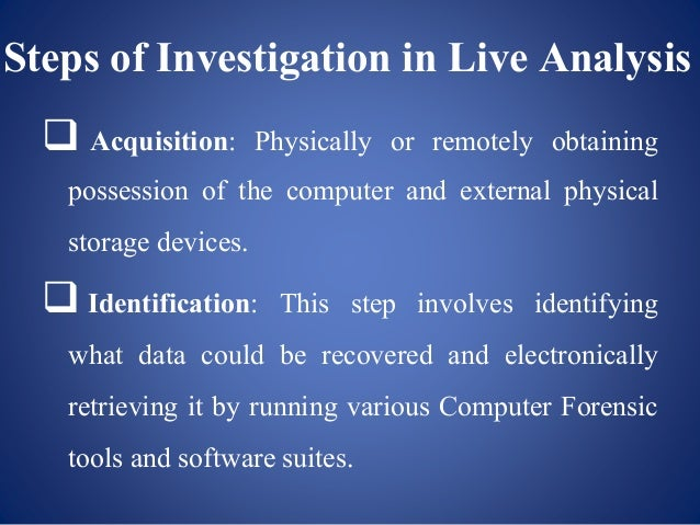 Computer Forensics Slides