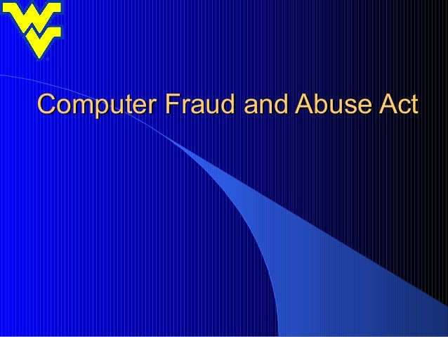 computer fraud essays Computer fraud and crimes in the world of computers, computer fraud and computer crime are very prevalent issues facing every computer user this ranges from system administrators to personal computer users who do work in the office or at home.