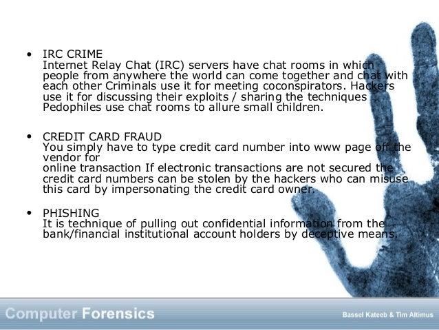 Computer forensics 1