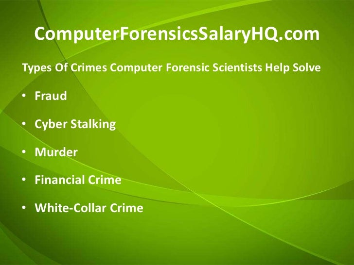 using computer forensics to investigate employee data theft Using computer forensics to investigate employee data theft 2017 © 2017 jurinnov, llc when employee data theft is suspected the computer forensics expert will create chain of custody.