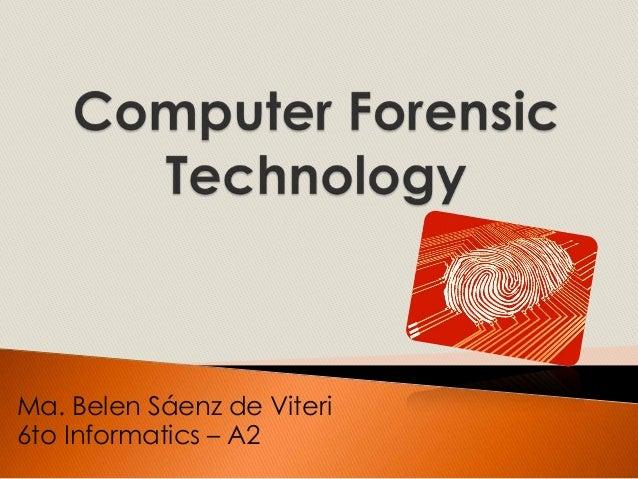 Ma. Belen Sáenz de Viteri6to Informatics – A2
