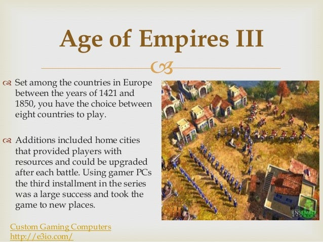 Computer games age of empires