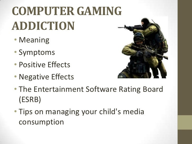 Computer game addiction researches
