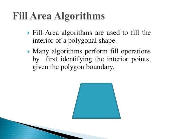 Bresenham Line Drawing Algorithm Using Opengl : Boundary fill algorithm in computer graphics wiki janam