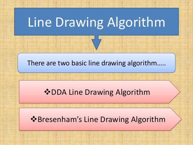 Bresenham Line Drawing Algorithm Doc : Computer graphics presentation