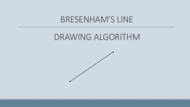 Line Drawing Algorithm C Program : Line drawing algorithm in computer graphics dda
