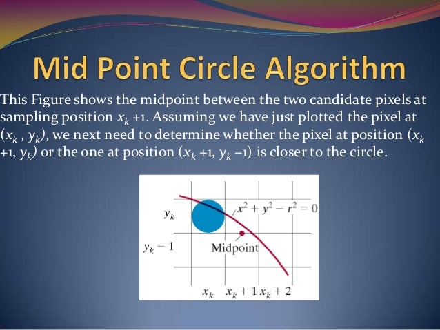 Bresenham Line Drawing Algorithm In C For All Slopes : Chapter 3 output primitives