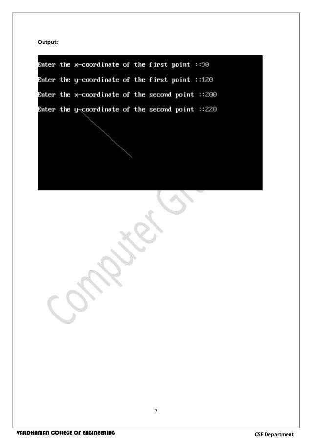 Computer Graphics Lab Manual Anna University