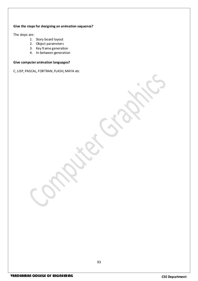 Computer graphics lab manual