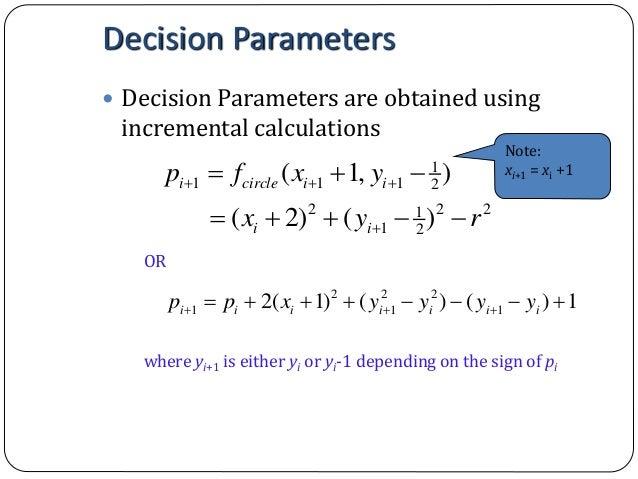 Bresenham Line Drawing Algorithm Theory : Computer graphics bresenham s line drawing algorithm
