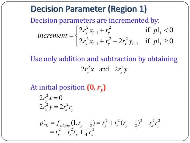Bresenham Line Drawing Algorithm Explanation : Computer graphics bresenham s line drawing algorithm