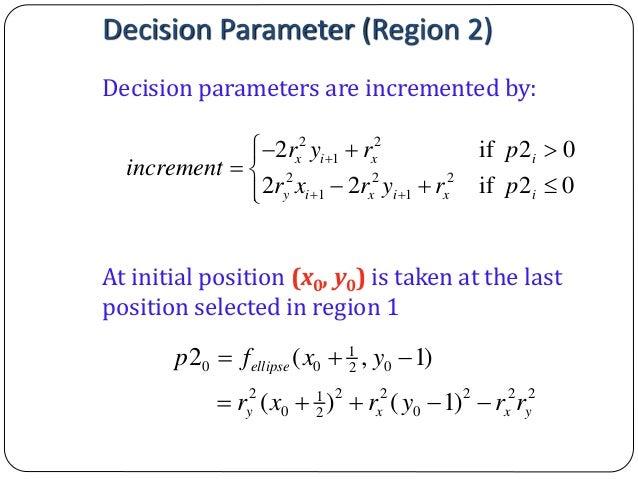 Bresenham Line Drawing Algorithm Mathematically : Computer graphics bresenham s line drawing algorithm
