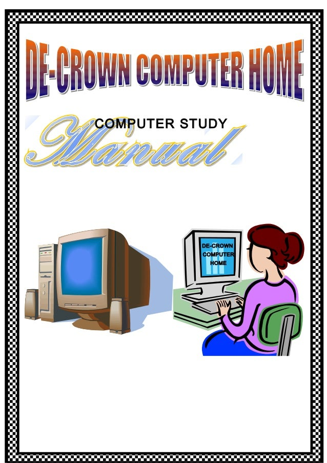 COMPUTER STUDY DE-CROWN COMPUTER HOME