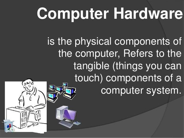 Computer hardware presentation Slide 2