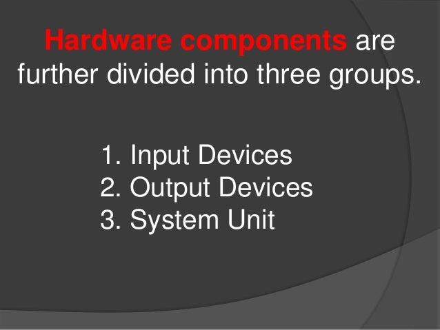 Computer hardware presentation Slide 3