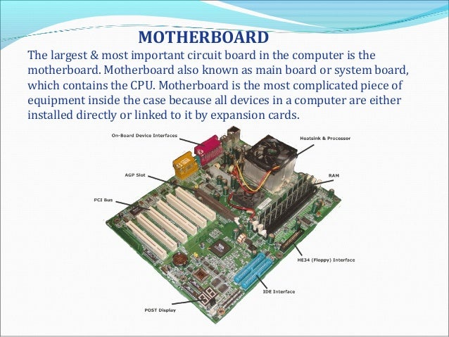 importance of hardware in computer system