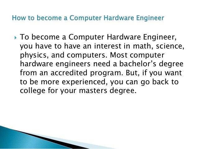 Computer hardware engineering
