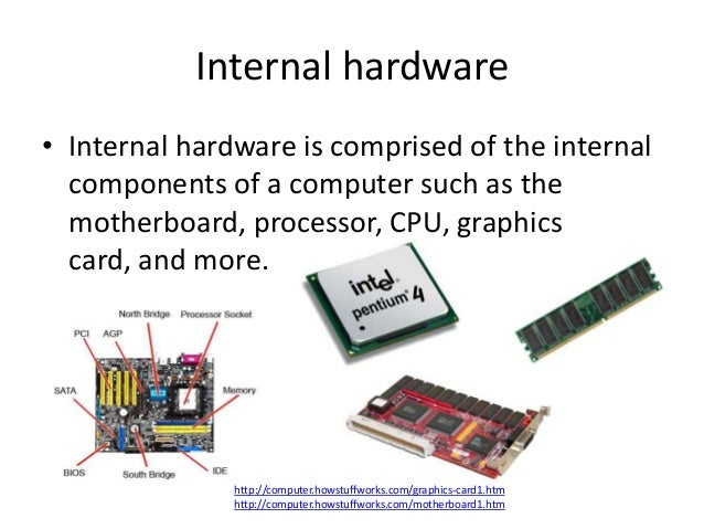 Hardware presentation.