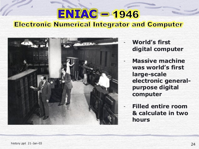 the history of the first computer In a modern computer these same parts are called the memory unit and the central processing  but ada earned her spot in history as the first computer programmer.