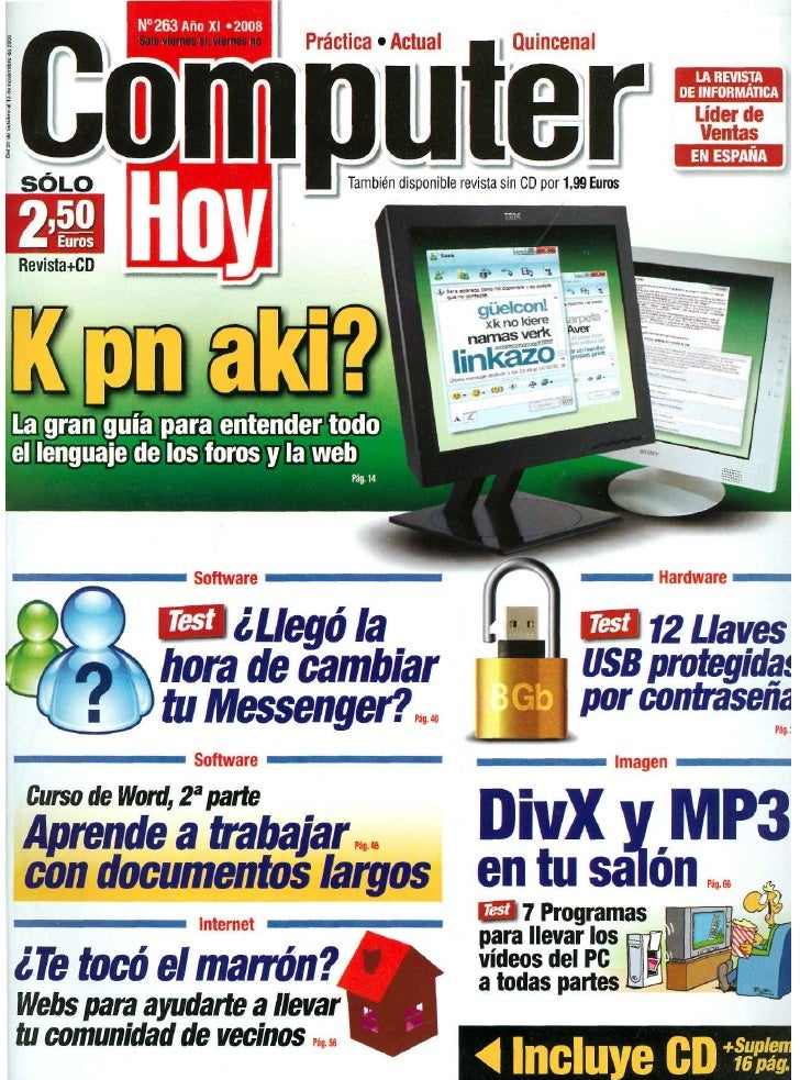 Revista Computer Hoy 263