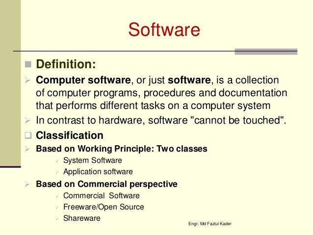 Computer hw sw