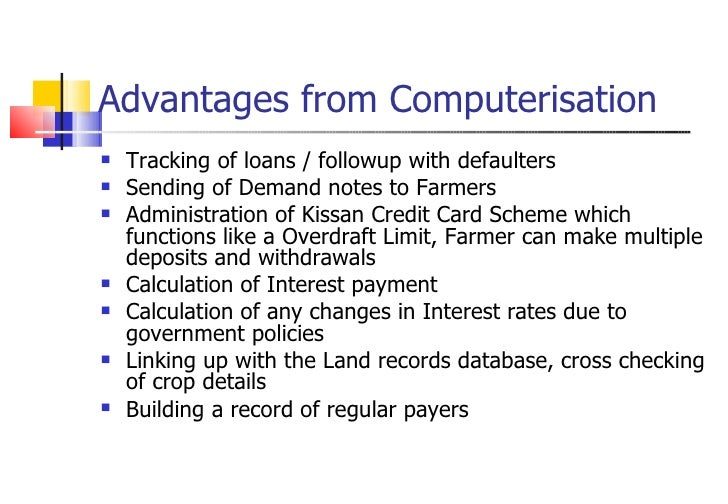 advantages of computerisation Computerization has made the world a much smaller place, as we now   advantages of computerization on globalization for the individual.