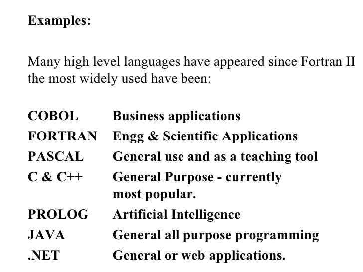 computer programming languages fortran essay