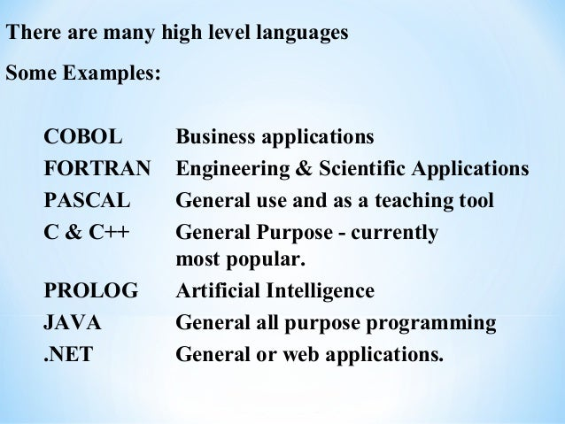 computer languages The aim of this list of programming languages is to include all notable programming languages in existence, both those in current use and historical ones, in alphabetical order dialects of basic, esoteric programming languages, and markup languages are not included.